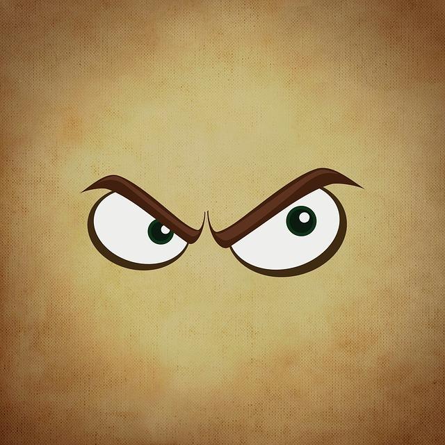 eyes 681612 640 ofke - Kızgınlık, Sinirlilik, Hiddet, Öfke